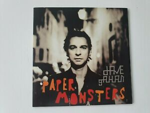 DAVE GAHAN (DEPECHE MODE) CD PROMO 10 TITRES PAPER MONSTERS