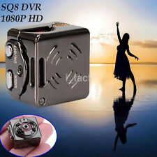Smallest Portable Mini SQ8 DV 1080P Full HD Car Aluminum Video Camera Recorder