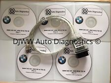 BMW DIS V44 V57 SSS V61 & TIS V8 INPA EDIABAS DIAGNOSTIC SOFTWARE & USB DCAN