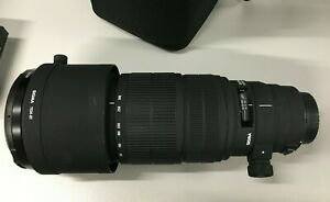 Sigma 120-300 f2.8 APO HSM for Canon EF with filters