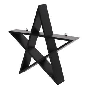 Pentagram Shelf Tattoo Studio Display Gothic Wall Art Decor Christmas Gift UK