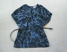 Country Road size M (8 10 12) tunic dress top 100% silk