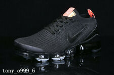Nike Air VaporMax Flyknit 3 Running Trainers Shoes Sneakers-Black