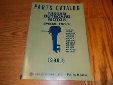 Nissan M-341-A Outboard Boat Motor Parts Catalog Special Tools