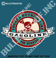 NOTHING LIKE THE SMELL OF GASOLINE DECAL STICKER HOT ROD RAT ROD MOTORSPORT JDM