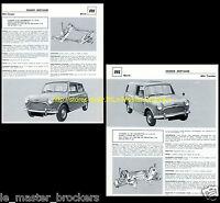 MORRIS Minor Cooper / Mini Traveller (break) - Fiche auto collection