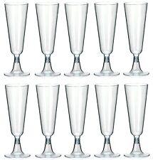 100 Einweg Sektgläser 0,1l Champagnergläser Sektglas Für Kaltgetränke NEU