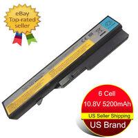 New Battery for Lenovo IdeaPad G460 G470 G560 G570 V570 Z470 V470 B570 L09S6Y02