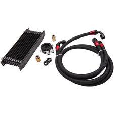 AN10 Universal Engine Oil Cooler+Filter Relocation Adapter Hose Kit 01EGD003BBL