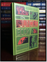 The Jungle Book by Kipling Illustrated by Minalima New Sealed Deluxe Cloth Bound