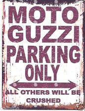 HONDA PARKING SIGN RETRO VINTAGE STYLE 8x10in 20x25cm garage workshop art