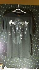 Vintage Papa Roach Band Black T-shirt Viva La Cucaracha