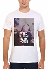 Weed is Legal in My House Hipster Men Women Vest Tank Top Unisex T shirt 334