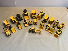 CAT Caterpillar Construction Equipment Vehicle Toy Lot 0f 21