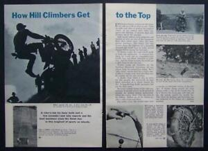 1951 National Motorcycle Hill Climb Mount Garfield Michigan pictorial