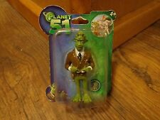 "JAZWARES--PLANET 51 MOVIE--3"" GENERAL GRAWL FIGURE (NEW)"
