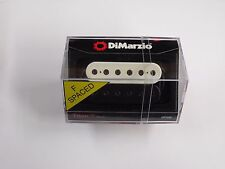 DiMarzio F-spaced Titan Neck Model Humbucker Black/White W/Black Poles DP 258