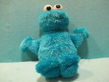 TALKING 2010 Hasbro Sesame Street - Cookie Monster Soft Plush Stuffed Toy 11""