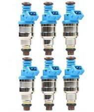 Set (6) 42lbs 440CC Top Racing Fuel Injectors Replaces 0280150558 42lb /hr EV1