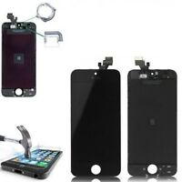 DISPLAY SCHERMO IPHONE 5 NERO PER APPLE TOUCH SCREEN LCD RETINA VETRO FRAME 5G