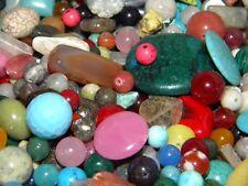 New 8/oz Gemstone,Semiprecious lot   Mixture of beads 6mm-20mm size
