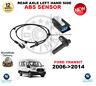 para FORD TRANSIT ABS Sensor 2006- > 2014 eje trasero Lado Izquierdo Calidad OE
