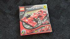Lego 8142 Racers Ferrari F1 1:24 en caja con instrucciones