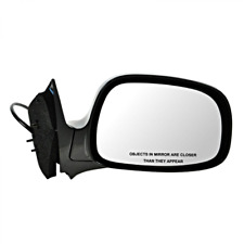 Fits 02-07 Rendezvous Left Driver Power Mirror Unpainted With Heat No Memory
