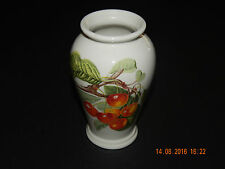 "PORTMEIRION POMONA GODDESS OF FRUIT ""BIGGARREUX CHERRY"" VASE"