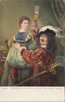 GEMALDE - Selbstbildnis d. Kunstlers mit Seiner Gattin Saskia - Rembrandt