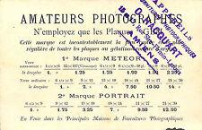 AMIENS CPA APPAREILS PHOTO HACQUART PLAQUES GEM EXPOSITION UNIVERSELLE 1900
