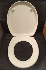 Porcher 71320-00.071 Round Front  Slow Close Toilet Seat - BISCUIT