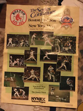 New listing NY METS AND BOSTON RED SOX Jimmy Fund Poster - 5/7/87 Shea Stadium
