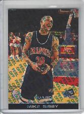 1998 Press Pass Mike Bibby reflector refractor Check List #R45