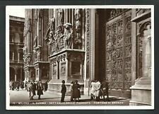 Milano : Il Duomo - cartolina viaggiata nel 1937 per Vezzano Ligure