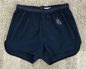 Size XS Nike Lab Essentials Womens Training Running Athletic Shorts Blue AA0087