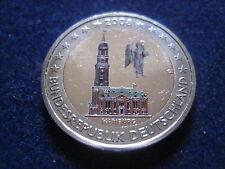 """MDS DEUTSCHLAND 2 EURO 2008 D """"HAMBURG"""", COLORIERT"""
