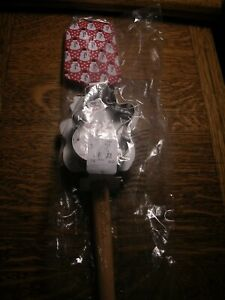 WILLIAMS SONOMA CHRISTMAS SNOWMAN SPATULA & COOKIE CUTTER NEW WITH TAGS