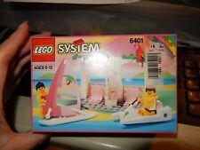 Lego  6401 Seaside Cabana Paradisa from 1992 New sealed Box  Exc w price label