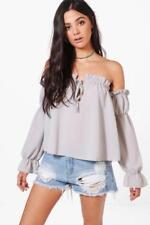 Camisas y tops de mujer blusa Color principal Gris Talla 36