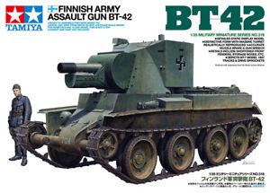 Tamiya Model 35318 1/35 WWII Finnish Army Assault Gun BT-52 Tank