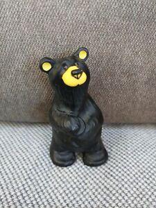 Big Sky Carvers BearFoots Bears - Boyd - collectible wooden bear. M19