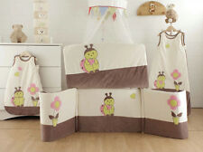 Les Kinousses Luxury Baby Cot CotBed Bumper and Quilt 2PCS - Ladybird
