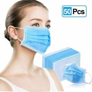 Medizinische Maske Mundschutz OP Typ II Filterschutzmasken CE EN14683 50Stk.