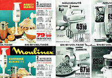 PUBLICITE ADVERTISING 026  1964  Moulinex combiné marinette Robot Marie (2p)