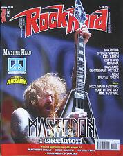 ROCK HARD 10 2011 Mastodon Nirvana Chickenfoot Iced Earth Absu Orne Gotthard SOD