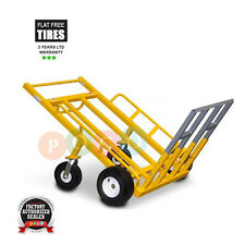 Monster Mover Commercial Dolly Heavy Duty Platform Truck 1200 Lbs Ca. Flat Free