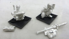Warhammer 40K Imperial Guard Steel Legion heavy weapon army lot missile launcher
