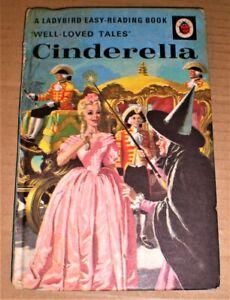 Ladybird Well Loved Tales CINDERELLA 606D - 24p matt