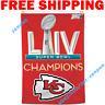 Kansas City Chiefs Champions NFL Super Bowl LIV 2019 2020 Flag Banner 3x5 ft NEW